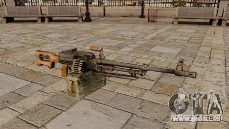 Mitrailleuse Kalachnikov pour GTA 4