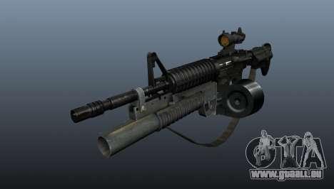 Automatiques M4 C-Mag pour GTA 4