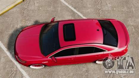 Ford Taurus SHO 2010 für GTA 4 rechte Ansicht