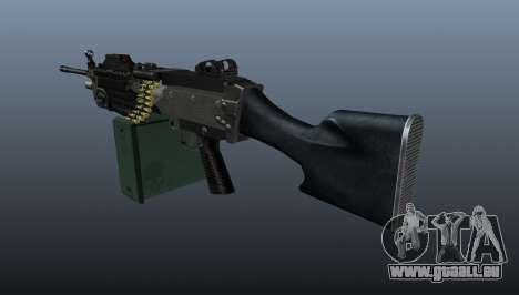 Aktualisierte M249 Maschinengewehr für GTA 4 Sekunden Bildschirm