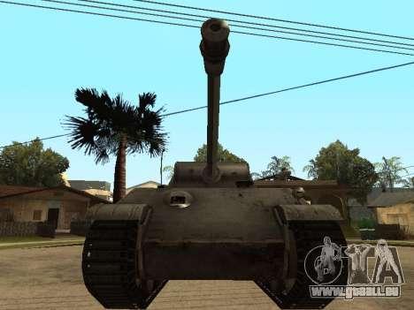 Pzkfpw V Panther pour GTA San Andreas laissé vue