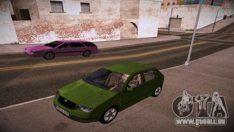 Skoda Fabia pour GTA San Andreas vue de droite