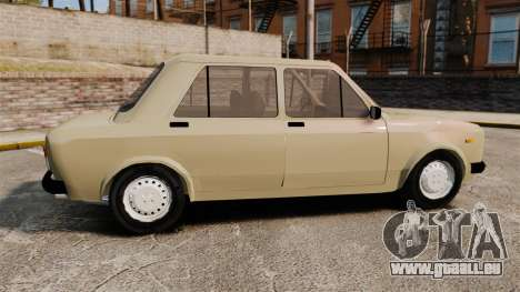 Zastava Yugo 128 pour GTA 4 est une gauche