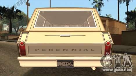Perennial HD from GTA 3 pour GTA San Andreas sur la vue arrière gauche