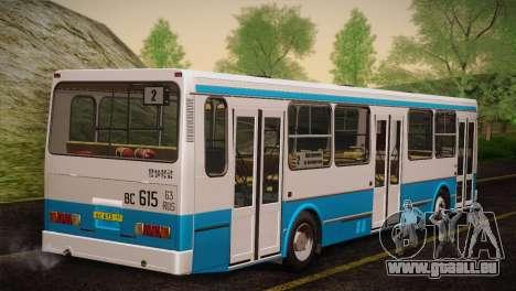 LIAZ 5256,00 Skins Pack 4 für GTA San Andreas zurück linke Ansicht