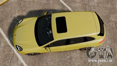 Porsche Cayenne 2012 SR für GTA 4 rechte Ansicht