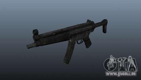Pistolet mitrailleur HK MP5 A3 pour GTA 4