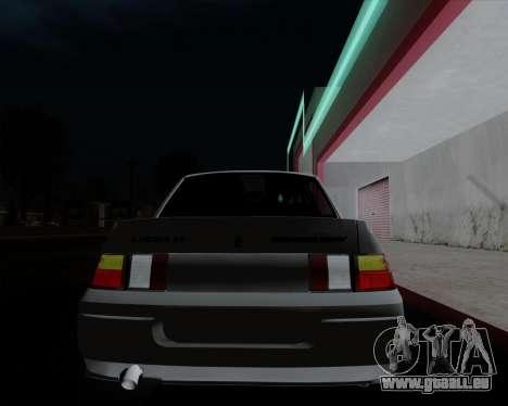 VAZ 2110 pour GTA San Andreas moteur