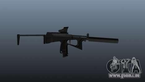 Pistolet mitrailleur pp-2000 v1 pour GTA 4 troisième écran