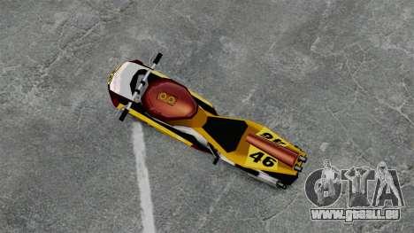 NRG500 pour GTA 4 Vue arrière de la gauche