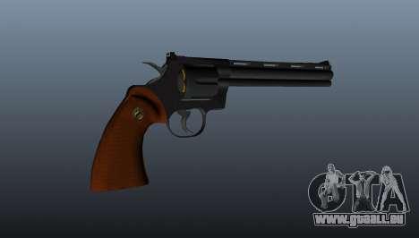 Revolver Python 357 8 dans pour GTA 4 troisième écran