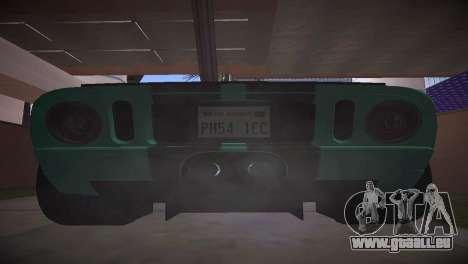 Ford GT TT Ultimate Edition für GTA San Andreas rechten Ansicht
