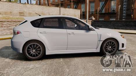 Subaru Impreza Cosworth STI CS400 2010 für GTA 4 linke Ansicht