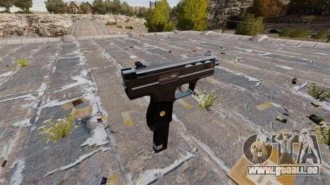 Pistolet mitrailleur UZI HK pour GTA 4 secondes d'écran
