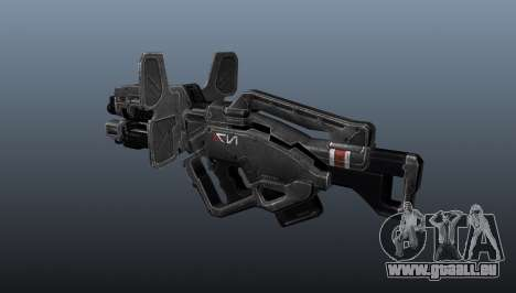 Leichtes Maschinengewehr Taifun für GTA 4 Sekunden Bildschirm
