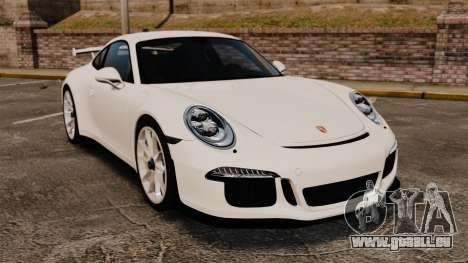 Porsche 911 GT3 (991) 2013 pour GTA 4