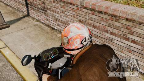 Une collection de casques Arai v1 pour GTA 4 quatrième écran