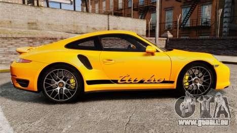 Porsche 911 Turbo 2014 [EPM] Turbo Side Stripes pour GTA 4 est une gauche