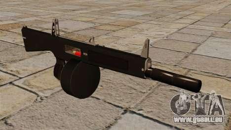 L'AA-12 shotgun avec un silencieux pour GTA 4