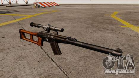 Fusil de sniper VSS Vintorez pour GTA 4