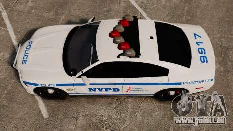 Dodge Charger 2012 NYPD [ELS] pour GTA 4 est un droit