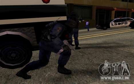 SWAT von Manhunt 2 für GTA San Andreas her Screenshot