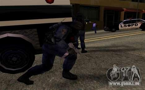 SWAT de Manhunt 2 pour GTA San Andreas quatrième écran