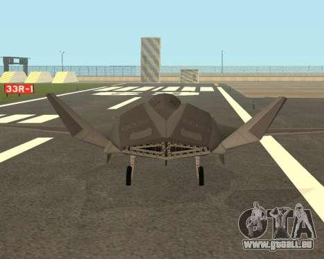 FA-37 Talon für GTA San Andreas rechten Ansicht
