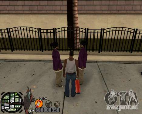 C-HUD Ghetto für GTA San Andreas