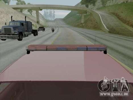 Chevrolet Caprice SFPD 1991 pour GTA San Andreas vue de droite