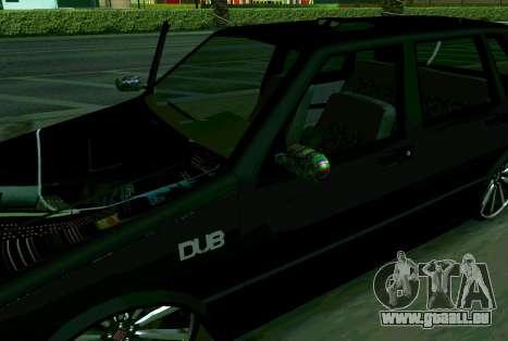 Fiat Uno 2010 Clase 4 für GTA San Andreas zurück linke Ansicht