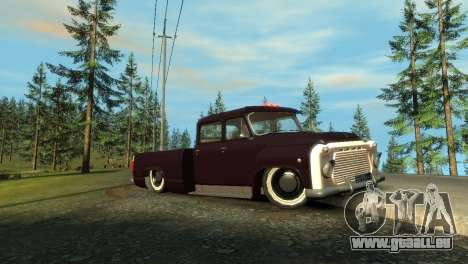 GAZ 53 für GTA 4 linke Ansicht