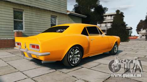 Chevrolet Camaro SS 1967 pour GTA 4 est une gauche