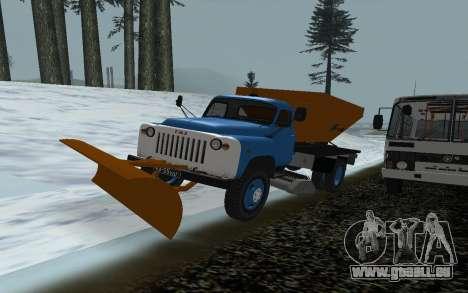 Souffleuse à neige gaz 53 pour GTA San Andreas