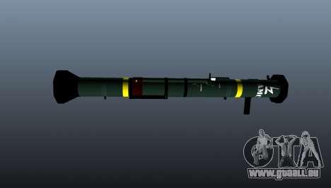 Panzerabwehr-Granatwerfer AT4-CS-HP für GTA 4 dritte Screenshot