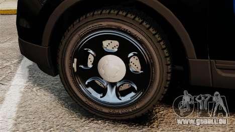 Ford Explorer 2013 Utility - Slicktop [ELS] pour GTA 4 Vue arrière