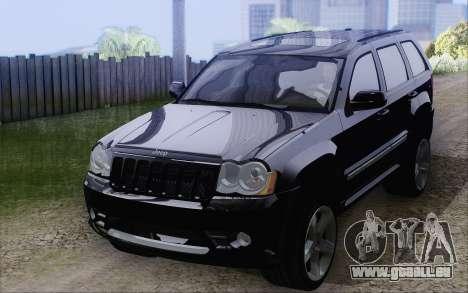 Jeep Cherokee SRT8 pour GTA San Andreas