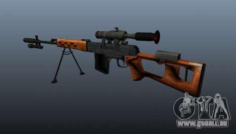 Dragunov Scharfschütze-Gewehr-A- & -K für GTA 4 Sekunden Bildschirm