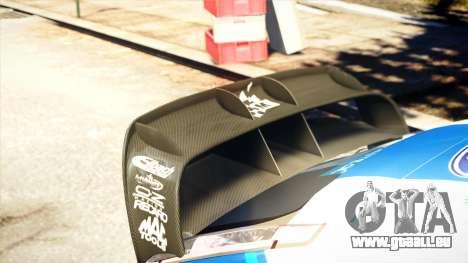 Ford Focus RS M Gronholm Rally Finland WRC pour GTA 4 Vue arrière