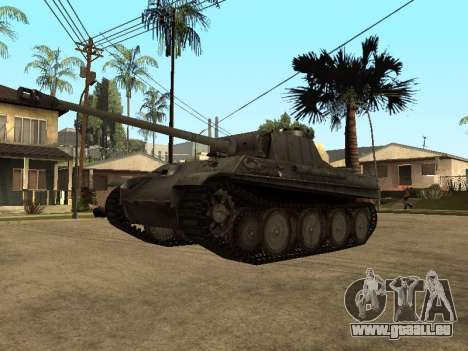 Pzkfpw V Panther pour GTA San Andreas