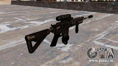 Automatique M4 carbine hybride portée pour GTA 4 secondes d'écran