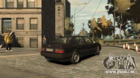 Volkswagen Passat B3 pour GTA 4 est un droit