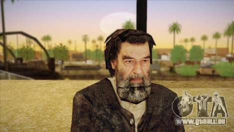 Saddam Hussein pour GTA San Andreas troisième écran