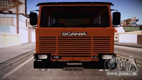 Scania LK 141 6x2 pour GTA San Andreas laissé vue