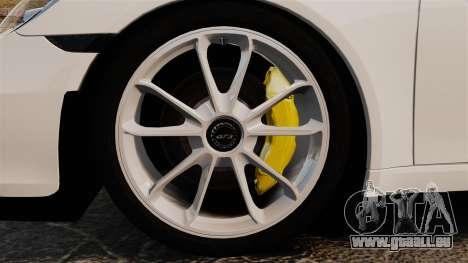 Porsche 911 GT3 (991) 2013 pour GTA 4 Vue arrière