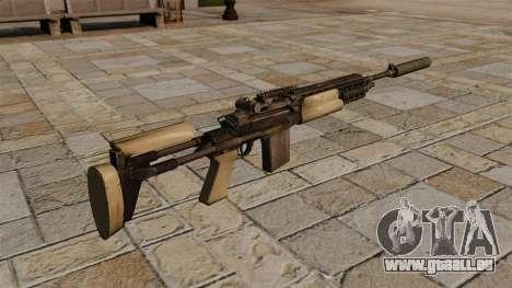 Fusil M14 avec un silencieux pour GTA 4 secondes d'écran