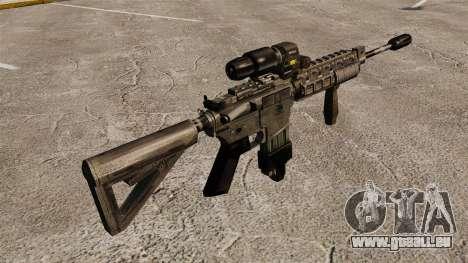 M4 Carbine Hybrid Bereich für GTA 4 Sekunden Bildschirm