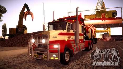 Kenworth RoadTrain T800 für GTA San Andreas