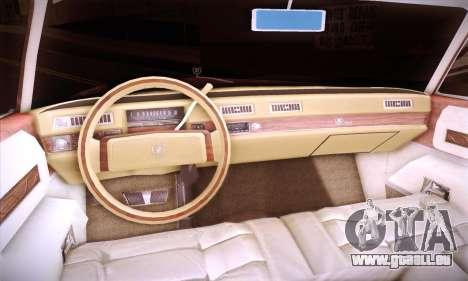 Cadillac Eldorado 1978 Coupe pour GTA San Andreas vue de côté