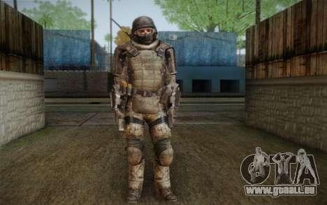 COD MW3 Heavy Commando für GTA San Andreas